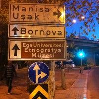 Photo taken at Bornova Metro Otobüs Durağı by 🐨 Cansu B. on 10/20/2012