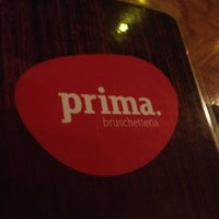 Foto tirada no(a) Prima Bruschetteria por Heloisa M. em 9/19/2012