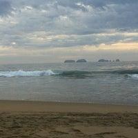 Photo taken at Playa Larga by Fernanda C. on 1/1/2013