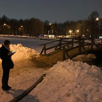 Photo taken at Большой пруд by Exey P. on 3/26/2018