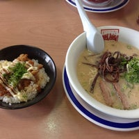 Photo taken at 風風ラーメン 今店 by Takeshi K. on 10/4/2013