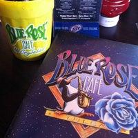 Photo taken at Blue Rose Cafe by Sara C. on 5/4/2013