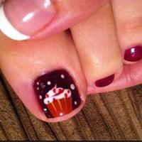 Photo taken at Hygiene+ Nail Salon by Crystal C. on 10/15/2012