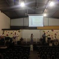 Photo taken at Shallom Cidade Nobre by Vinnicius H. on 6/23/2013