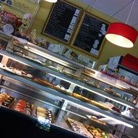 Photo taken at Côté France Café by April A. on 10/16/2012