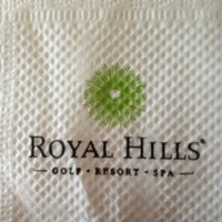 Photo taken at Royal Hills Golf Resort & Spa by TonNam S. on 5/8/2013