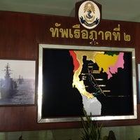 Photo taken at กองบัญชาการทัพเรือภาคที่2 by TonNam S. on 5/14/2013