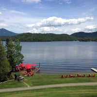 Photo taken at Lake Placid Lodge by Suzanne C. on 6/23/2014