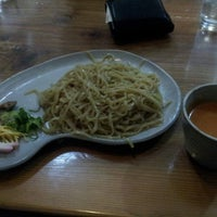 Photo taken at ラーメンせいざん by OKB 4. on 3/15/2013