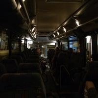 Photo taken at NATURE ONE Bus Koblenz-Pydna by Julia K. on 8/2/2014