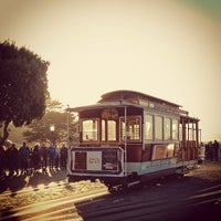 Photo taken at Hyde Street Cable Car by Julia K. on 9/19/2012
