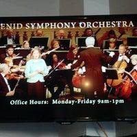 Photo taken at Enid Symphony Center by Lori W. on 3/9/2014
