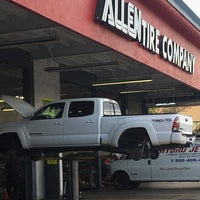 Photo taken at Allen Tire Company by Derick T. on 12/29/2016