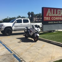 Photo taken at Allen Tire Company by Derick T. on 5/1/2017