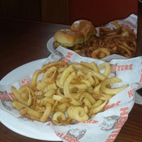 Photo taken at Hooters of Williamsburg by Monica P. on 9/3/2013