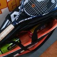 Photo taken at Racket Sports by Silvio H. on 3/28/2014