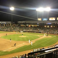 Photo taken at Dell Diamond by Katie G. on 8/23/2013