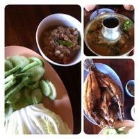 Photo taken at ริมเขื่อน (Rim Khuean Restaurant) by June N. on 1/5/2013