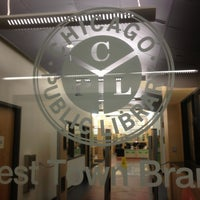Photo taken at Chicago Public Library by Blunt R. on 9/19/2013
