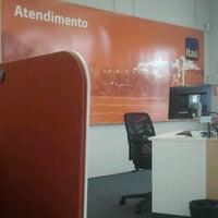 Photo taken at Banco Itaú by Thiago A. on 1/10/2013