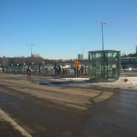 Photo taken at HSL Tapionaukion bussiterminaali by A. T. on 3/25/2013