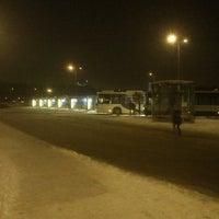 Photo taken at HSL Tapionaukion bussiterminaali by A. T. on 2/7/2013