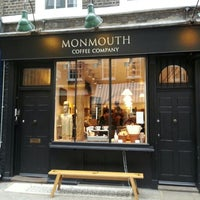 Photo taken at Monmouth Coffee Company by Eva C. on 4/12/2013