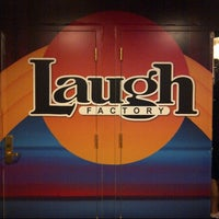 Photo taken at Laugh Factory by @VegasBiLL on 10/15/2012