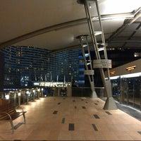 Photo taken at ARIA Express Bellagio Station by @VegasBiLL on 7/19/2013