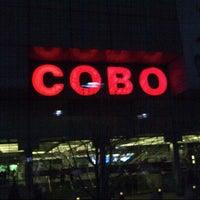 Photo taken at Cobo Center by @VegasBiLL on 1/15/2013