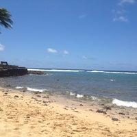 Photo taken at Snorkeling @ Lawai Beach by Melissa M. on 5/12/2013
