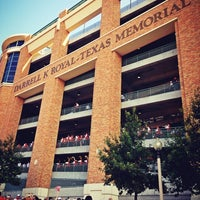 Photo taken at Darrell K Royal-Texas Memorial Stadium by Hew on 8/31/2013