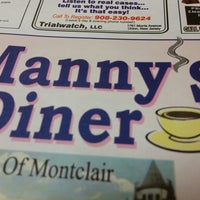 Photo taken at Manny's Diner by Leonardo S. on 11/15/2014