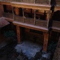 Photo taken at Kantipur Temple House by Ellen L. on 10/5/2013
