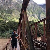 Foto tirada no(a) Aguas Calientes | Machu Picchu Pueblo por Erdem S. em 3/3/2018