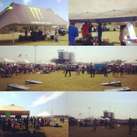 Photo taken at UWG Student Tailgate Zone by Krystal H. on 10/6/2012