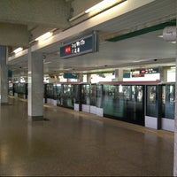 Photo taken at Ang Mo Kio MRT Station (NS16) by Stan-Lee G. on 9/14/2012