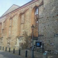 Photo taken at St. Bartholomäi Kirche Zerbst by Thorsten K. on 7/24/2013