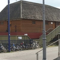 Photo taken at Historische Schiffmühle by Thorsten K. on 3/23/2014