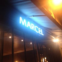 Photo taken at Marcel by Sarah C. on 5/4/2013