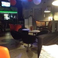 Photo taken at Why Not Café & Bar by Vercz O. on 11/19/2013