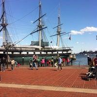 Photo taken at Inner Harbor by Gagan S. on 5/12/2013