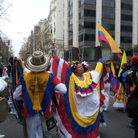 Photo taken at Buenos Aires celebra Colombia by Lina A. on 7/21/2013