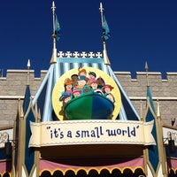 Photo taken at it's a small world by Jeff D. on 11/25/2012