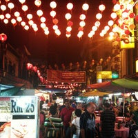 Photo taken at Petaling Street (Chinatown) by Kenny T. on 3/31/2013