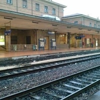 Photo taken at Stazione Ferrara by Arcangelo D. on 1/28/2013