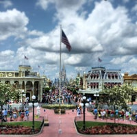 Photo taken at Main Street, U.S.A. by Joel M. on 5/12/2013
