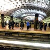 Photo taken at Metro Center Metro Station by Joel M. on 1/28/2013