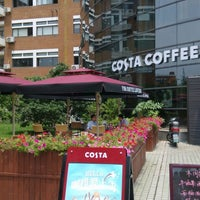 Photo taken at Costa Coffee (咖世家) by Jeff T. on 6/24/2014