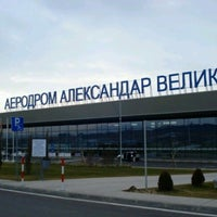 Photo taken at Skopje Alexander the Great Airport (SKP) by Aytac E. on 6/23/2013